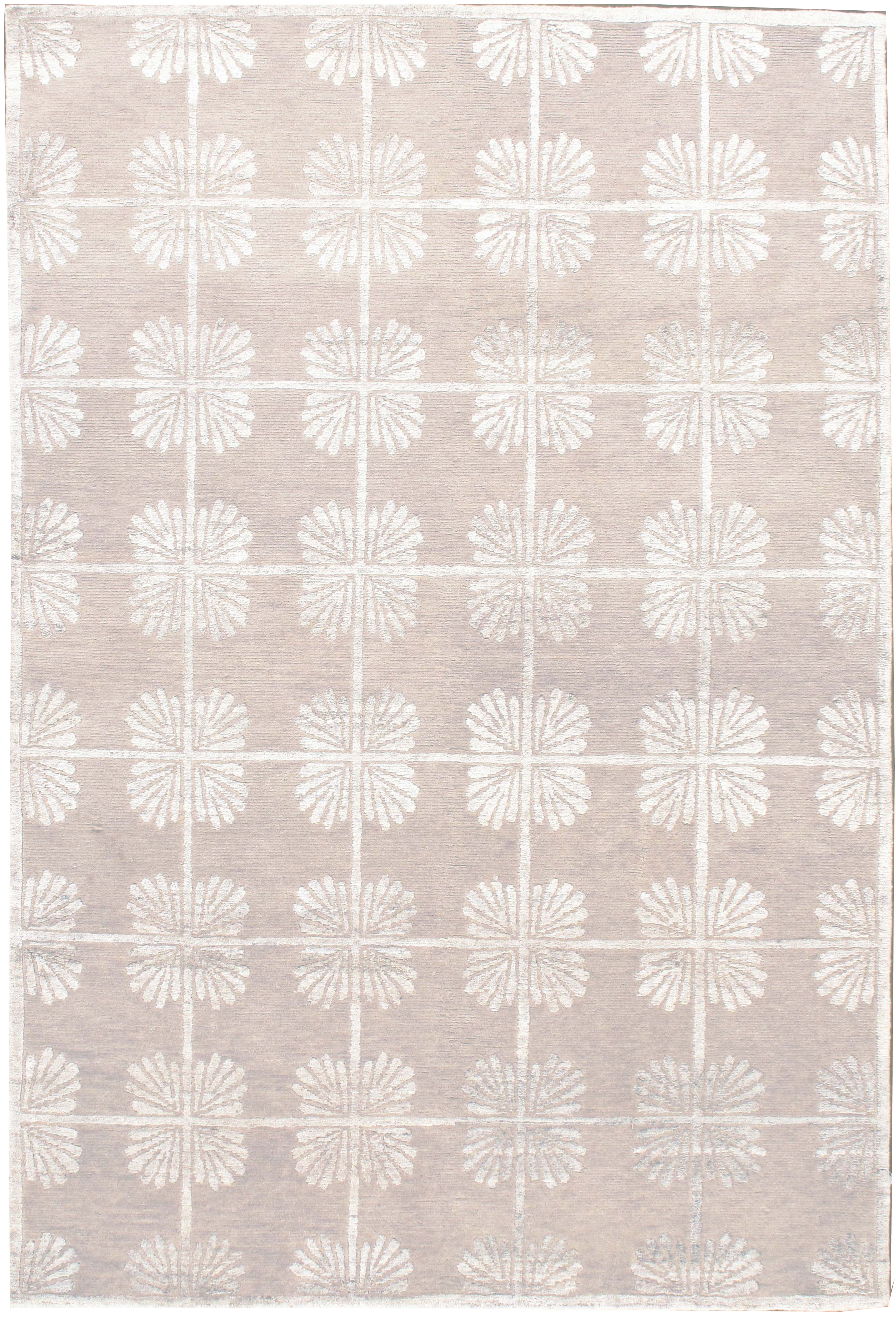 Oyster Lace Contemporary Rug