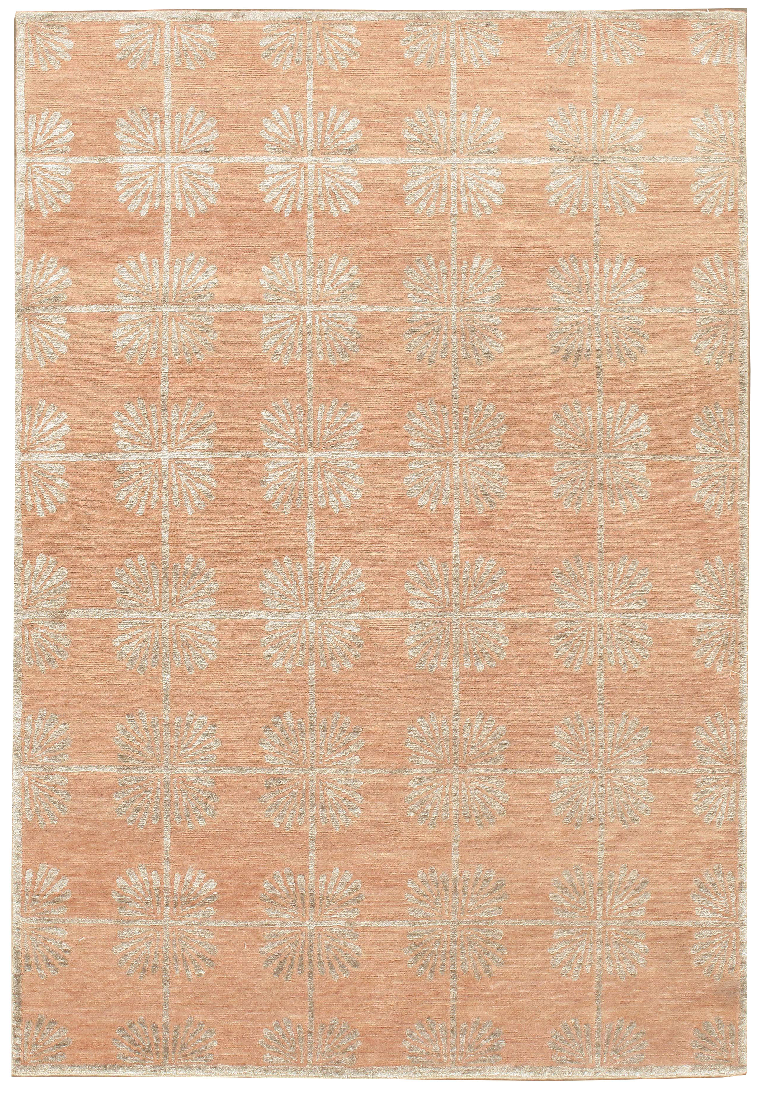 Coral Lace Contemporary Rug
