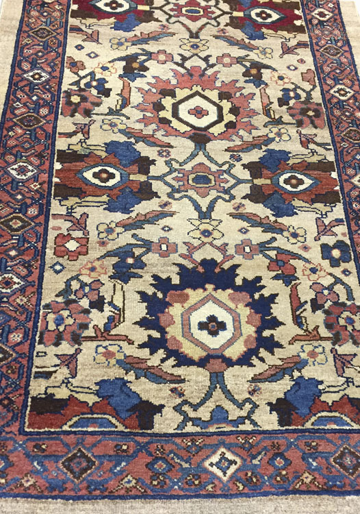 Antique Persian Serab Runner Rug
