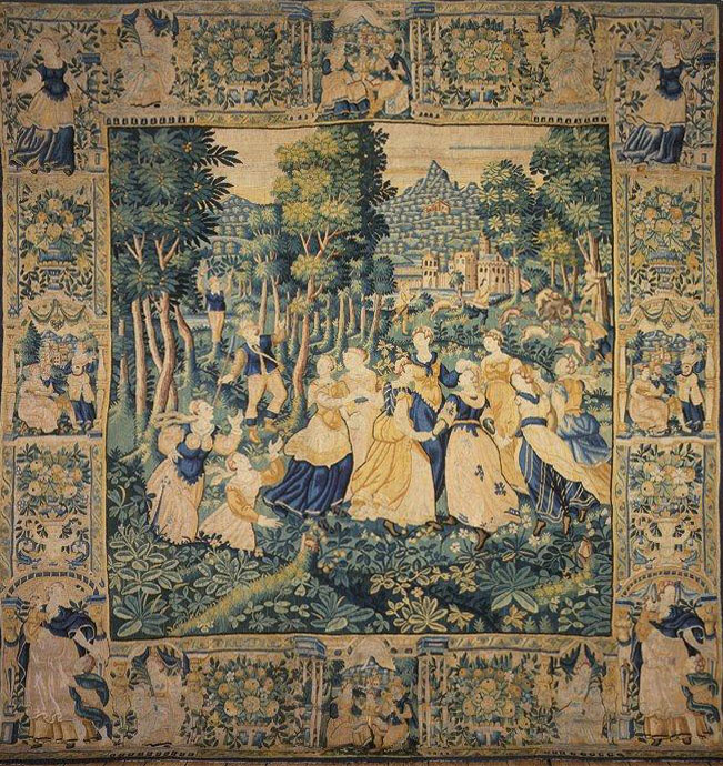 Audenarde 16th Century Tapestry