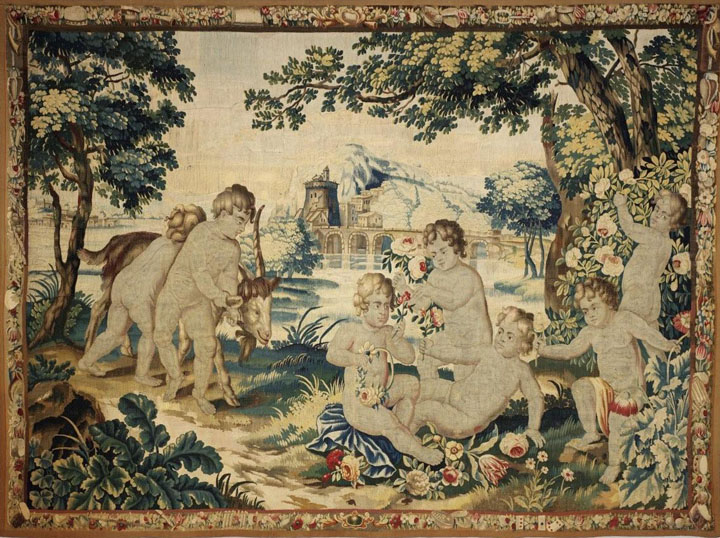 Brussels Late 17th Century Tapestry