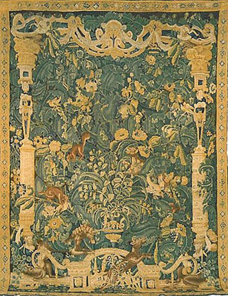 Flemish Feuilles De Choux Tapestry