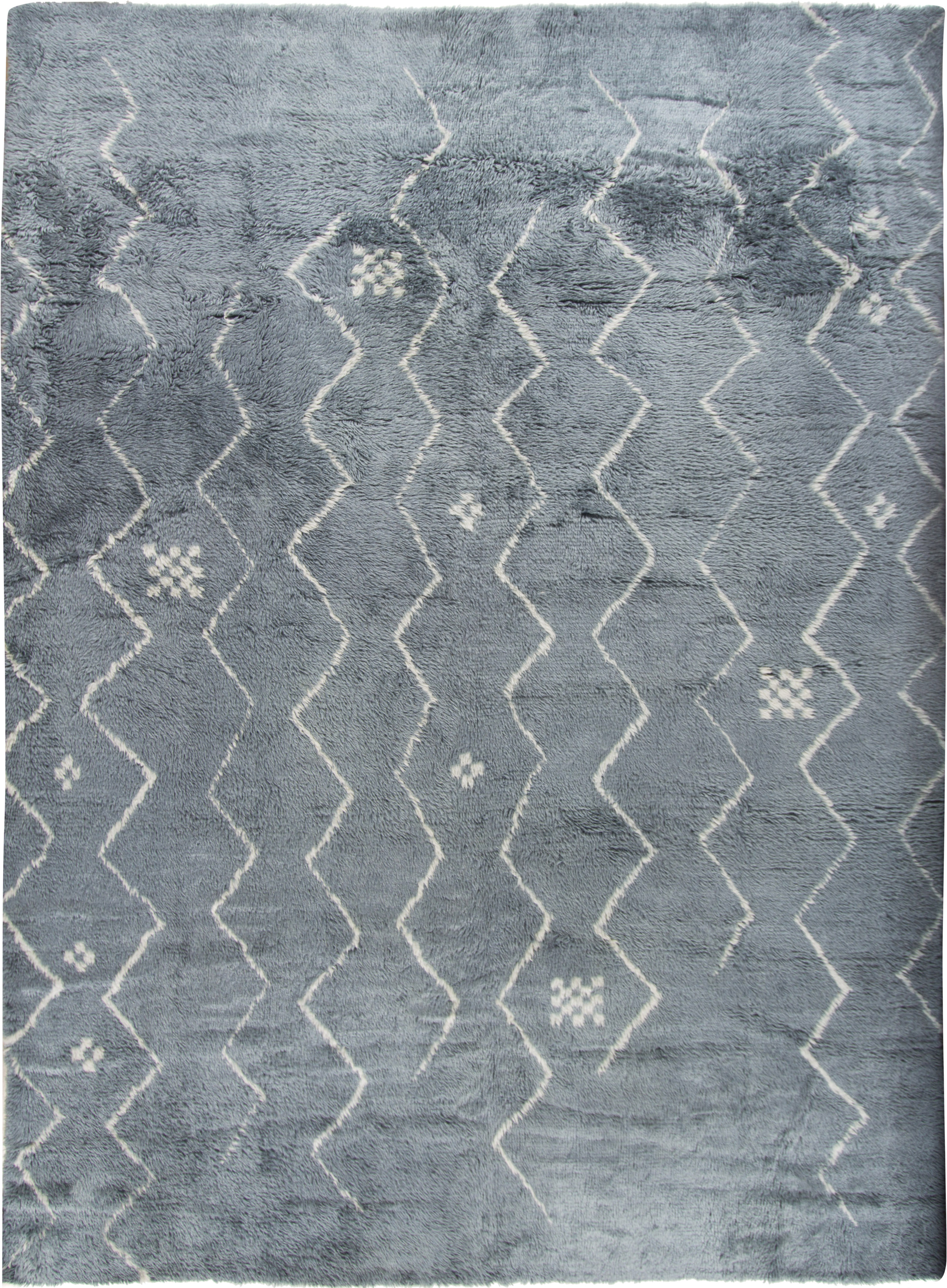 Moroccan Fluffy Collection Rug