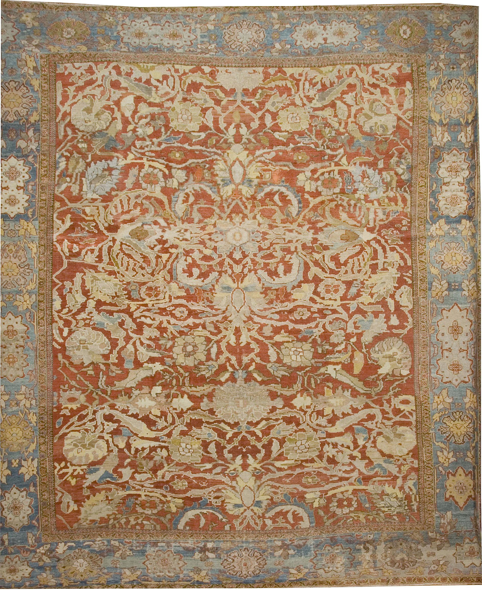 Antique Persian Ziegler Rug