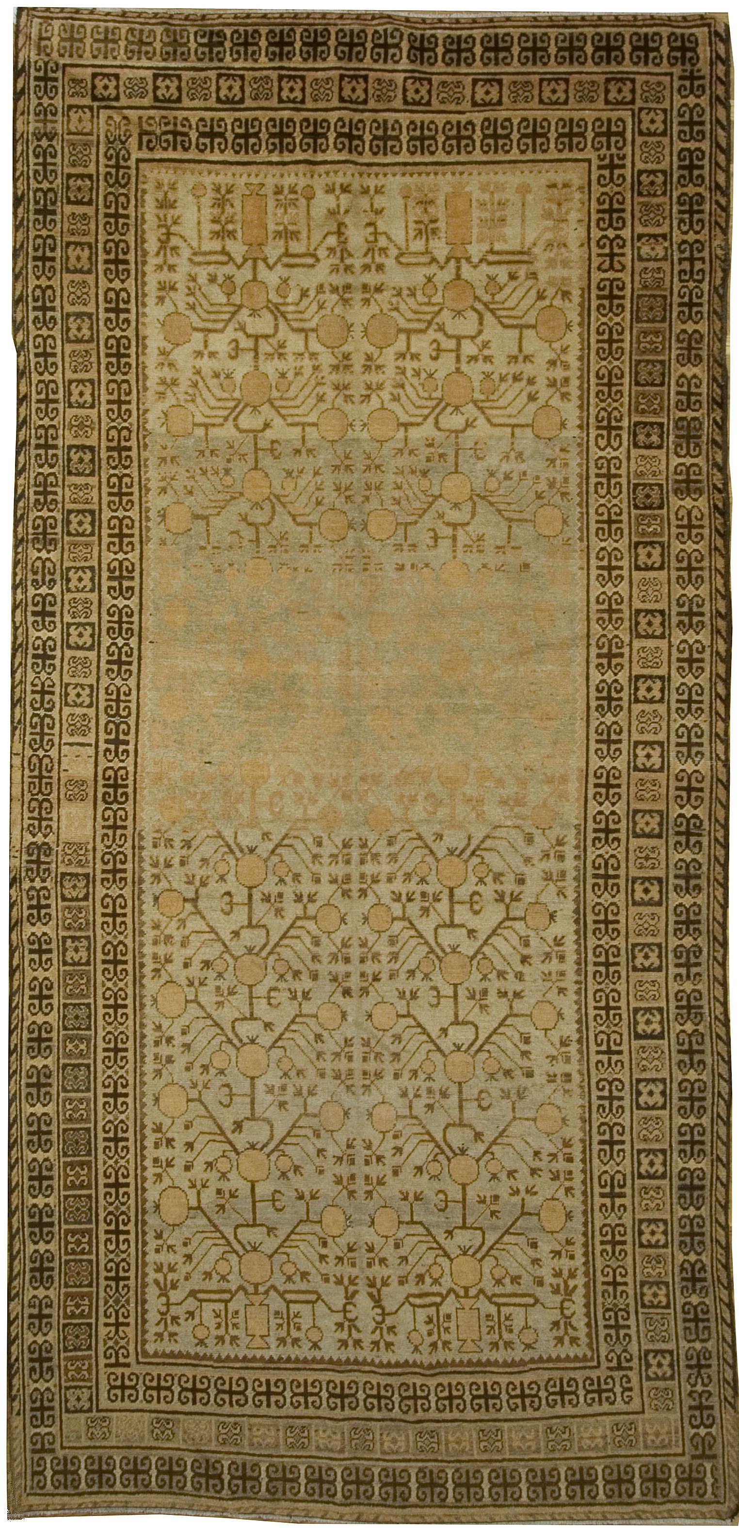 Antique Khotan Gallery Size Rug