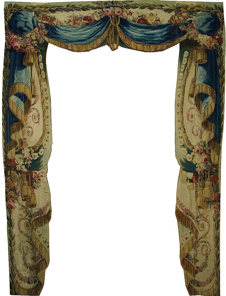 Antique Beauvais Portier