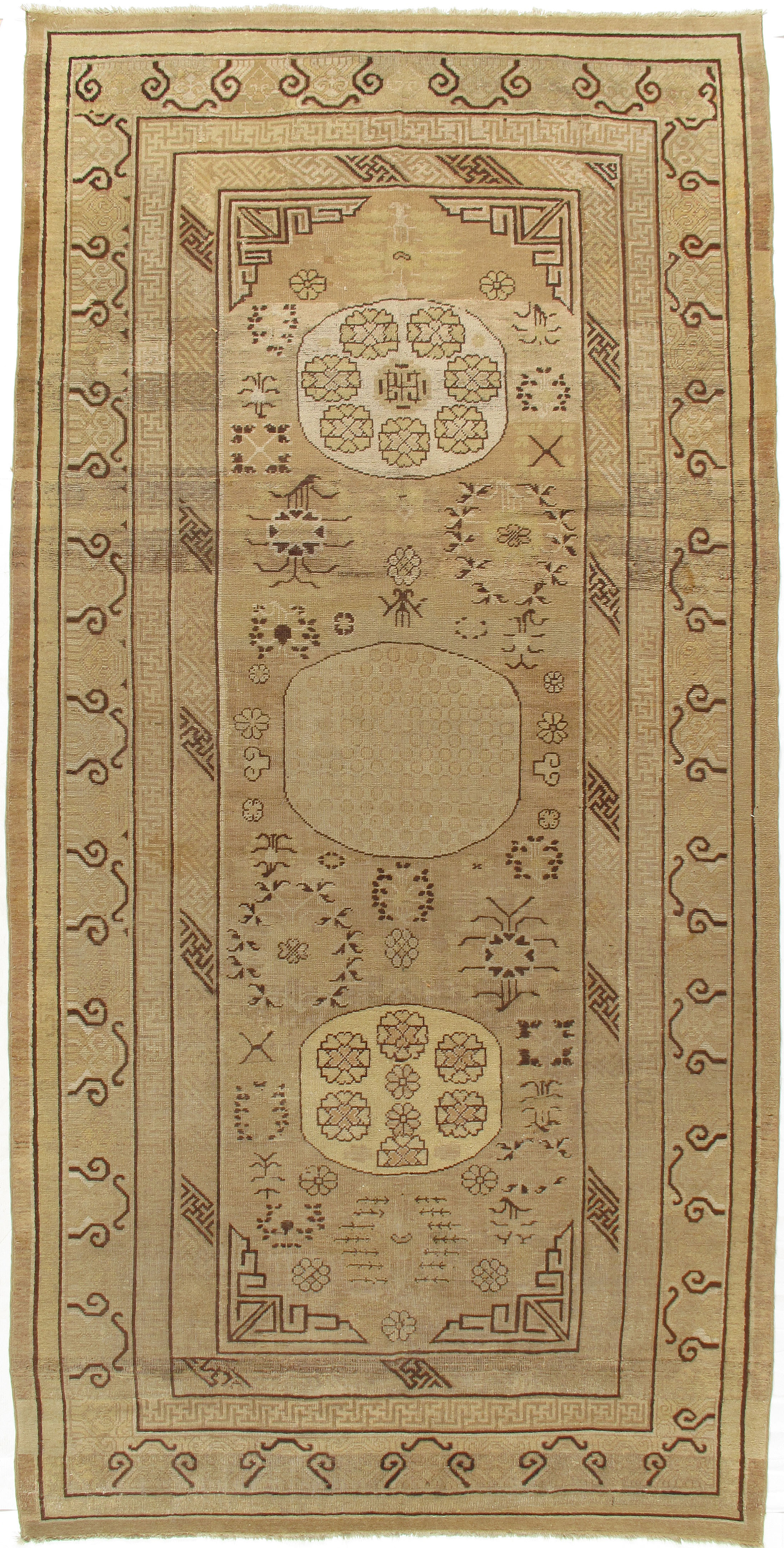 Antique Khotan Gallery Size Rug