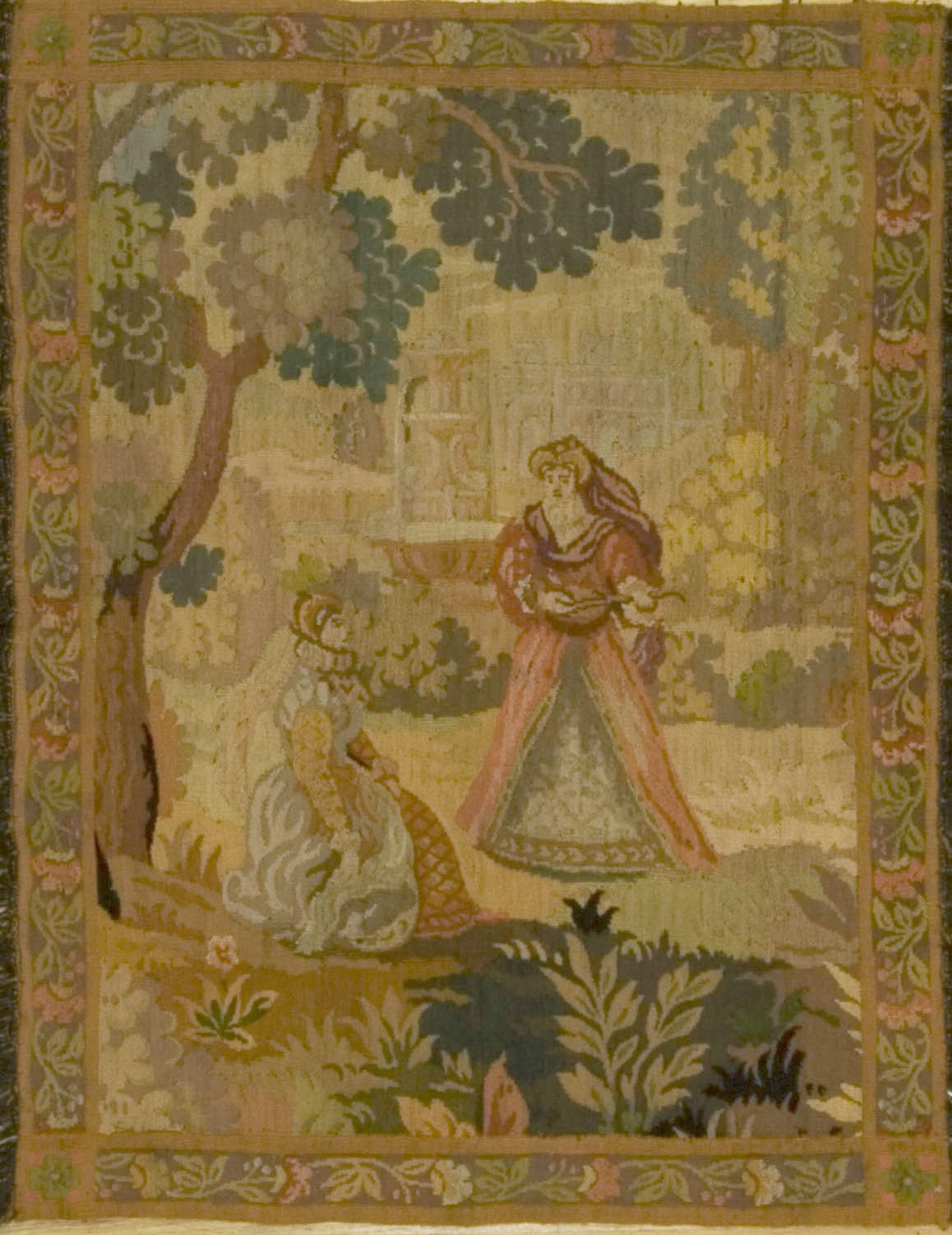 French Tapestry Late 19th Century