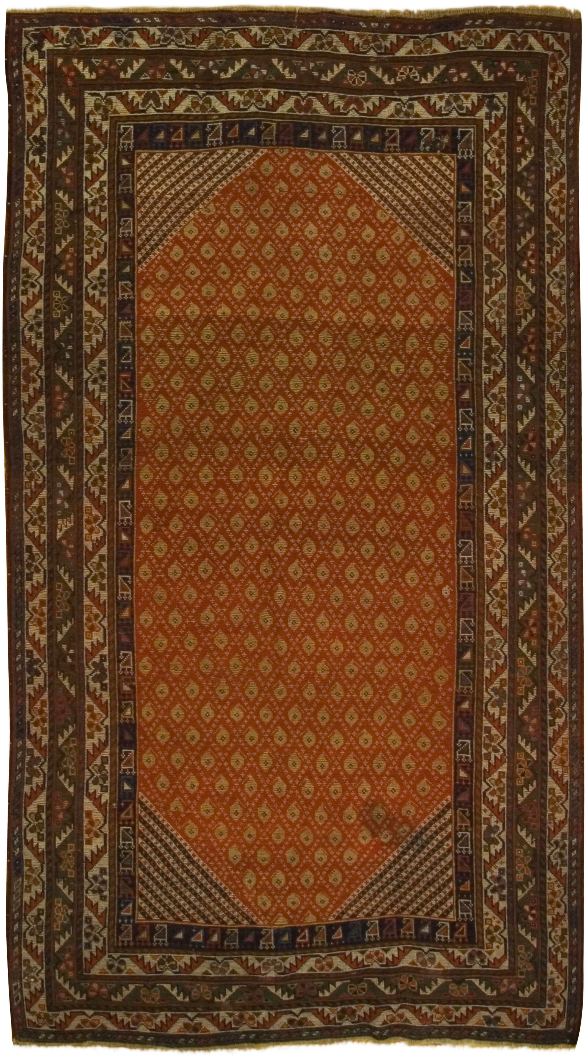 Antique Persian Qashgai Rug