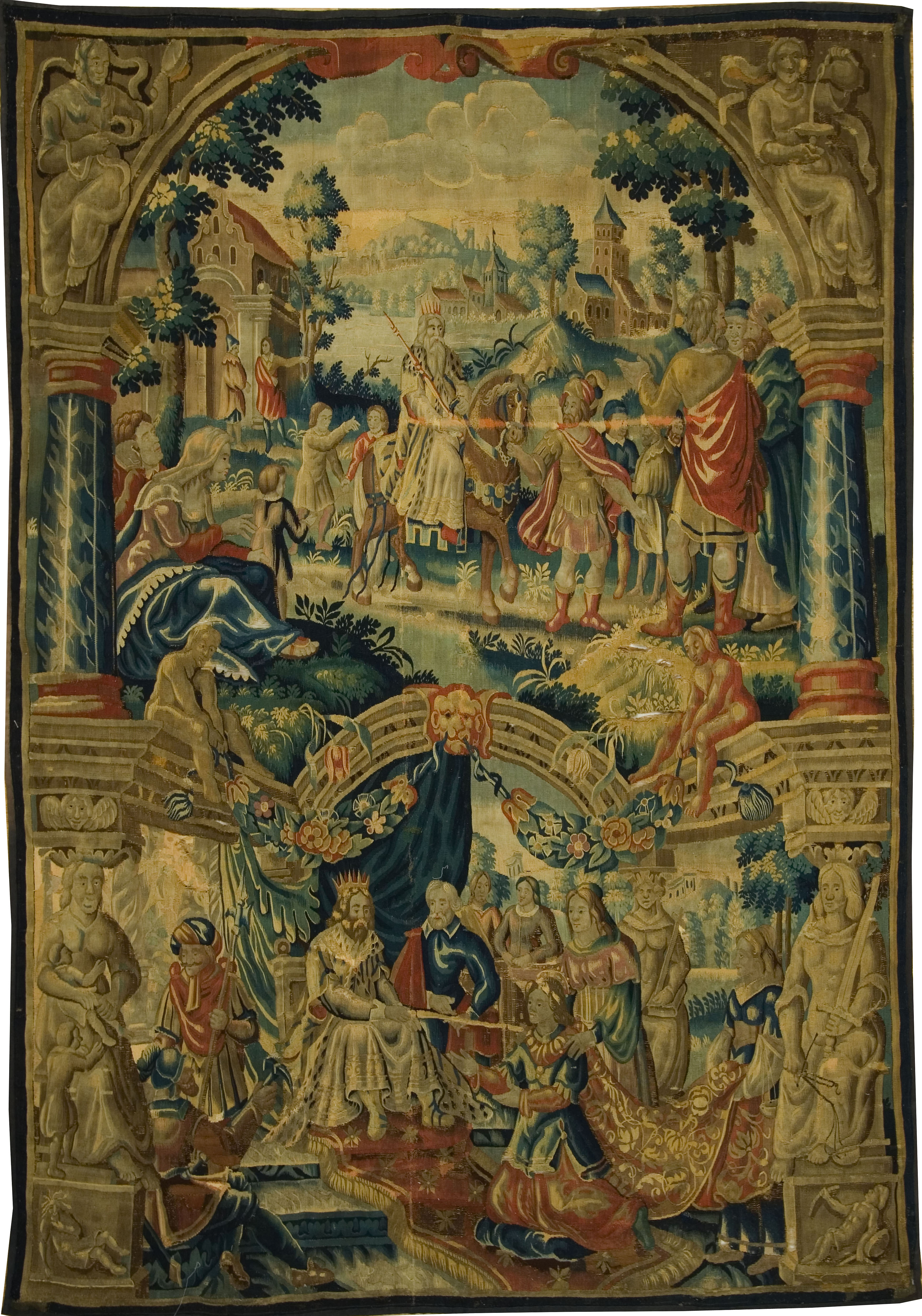 Biblical Tapestry Queen Esther Delft