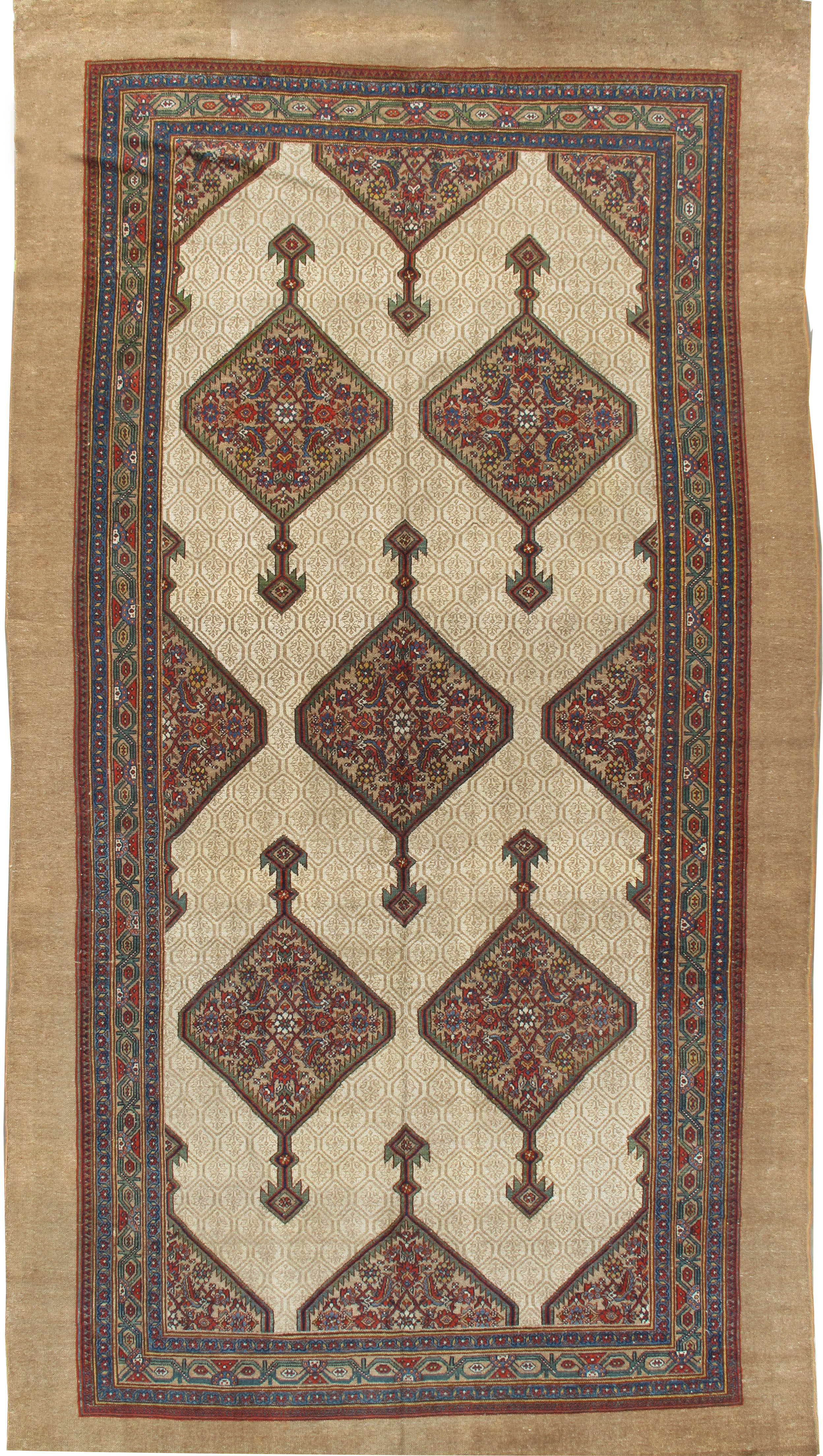 Antique Persian Serab Runner