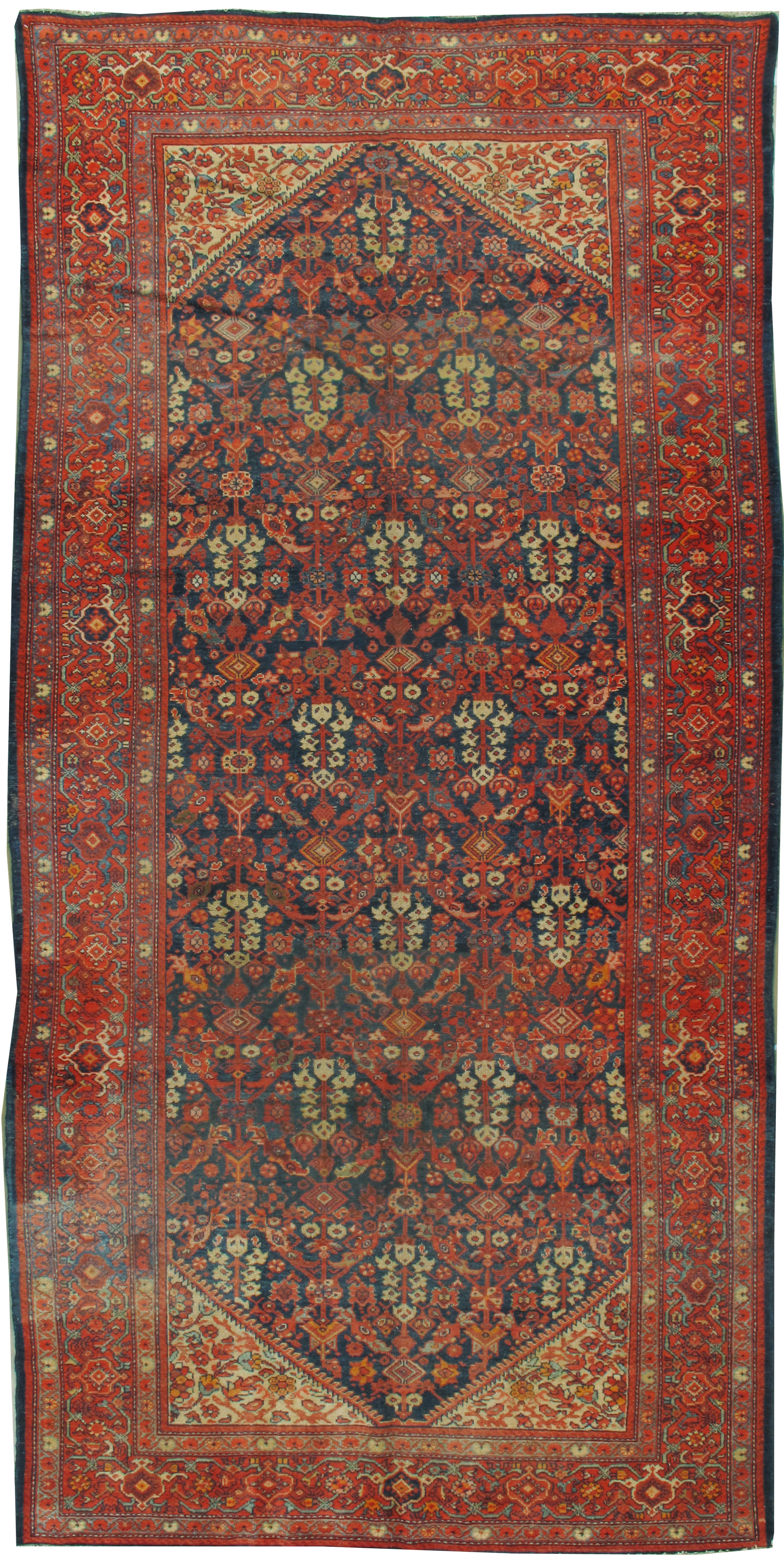 Antique Persian Malayer Rug Runner