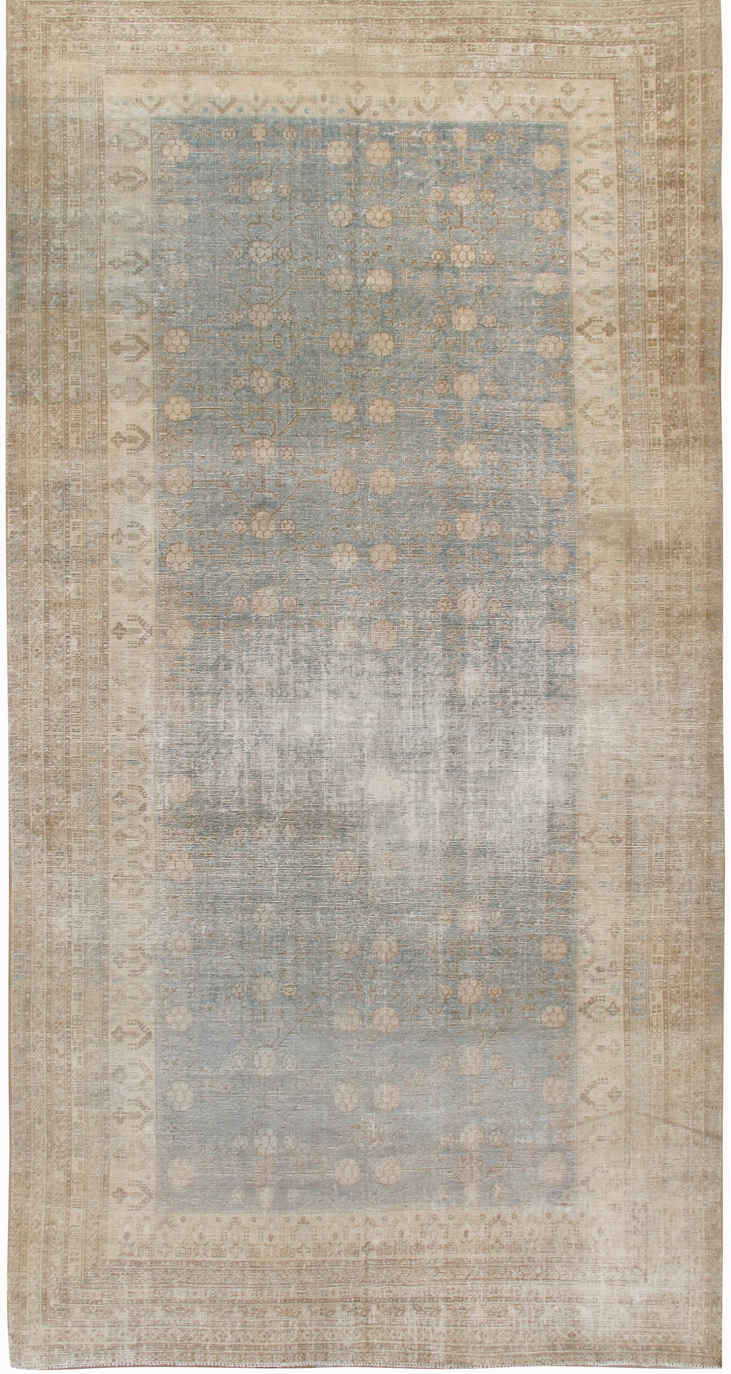 Antique Distressed Khotan