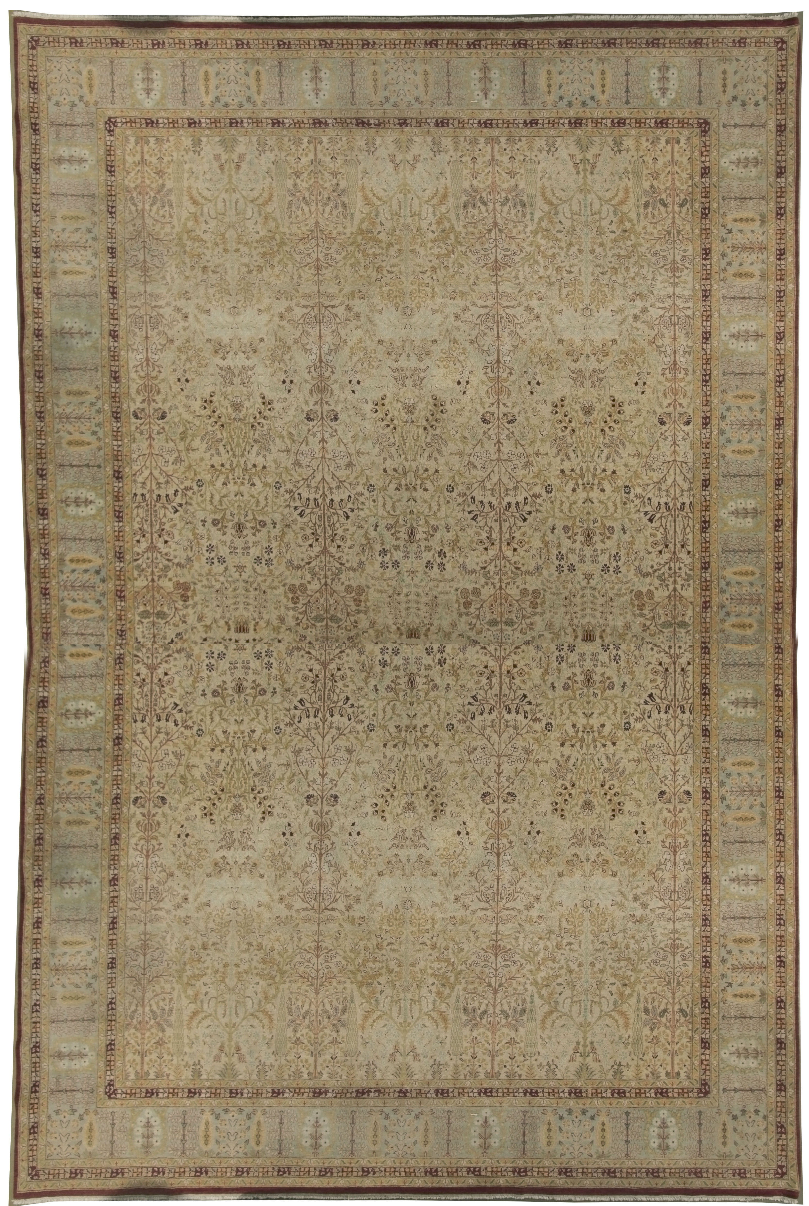 Oversize Indian Amritsar Design Rug