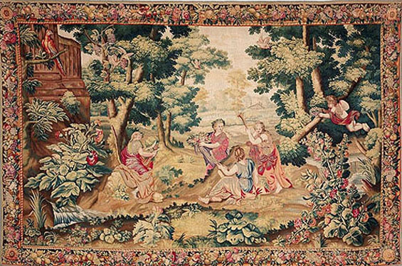 Beauvais 17th Century Tapestry
